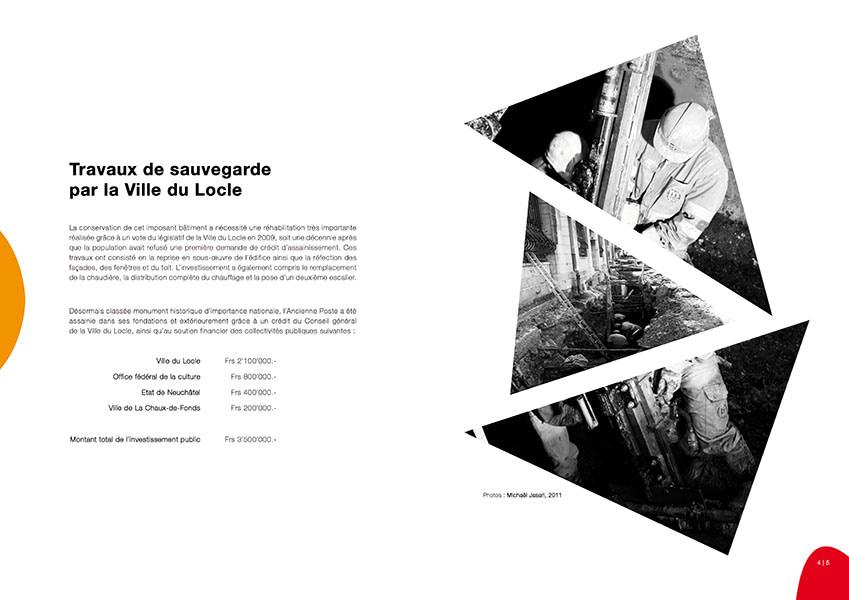 FONDATION DE L'ANCIENNE POSTE